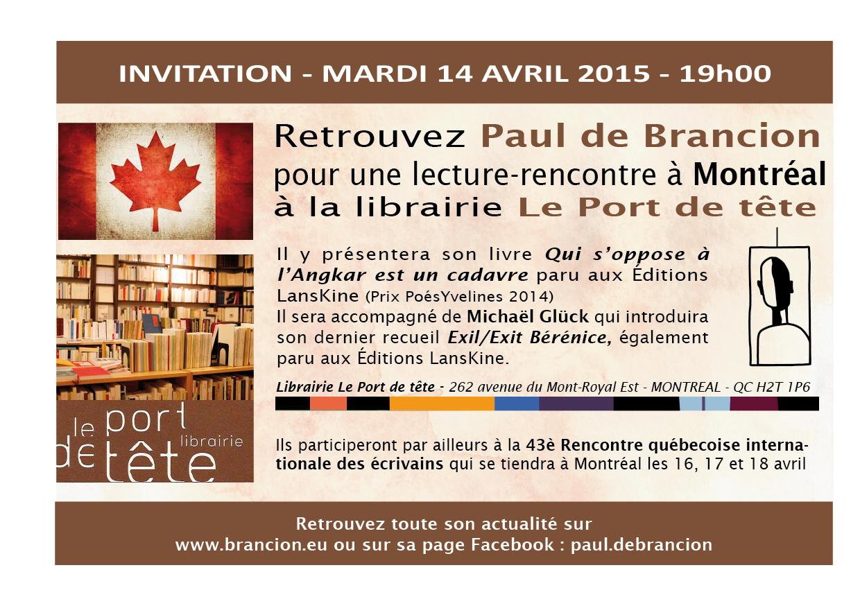 14 avril Montréal
