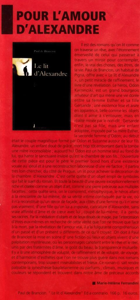 Journal de la Corse mai juin 2006