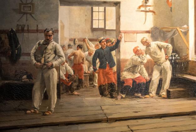 musée Paul Valéry - La salle d'armes