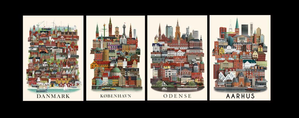 Lectures-débats au Danemark